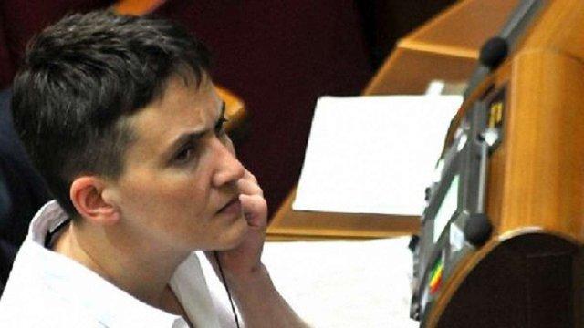 Савченко визнала некоректність опублікованих нею списків полонених