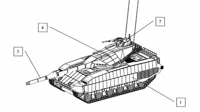 Українські конструктори запатентували новий танк Т-Rex