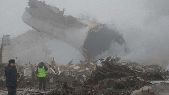 Понад 30 людей загинули внаслідок авіакатастрофи вантажного літака у Киргизстані