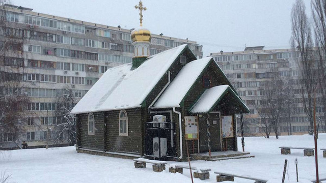 У Києві намагалися підпалити церкву УПЦ МП
