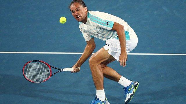 Український тенісист у тригодинному матчі виборов вихід до другого кола Australian Open