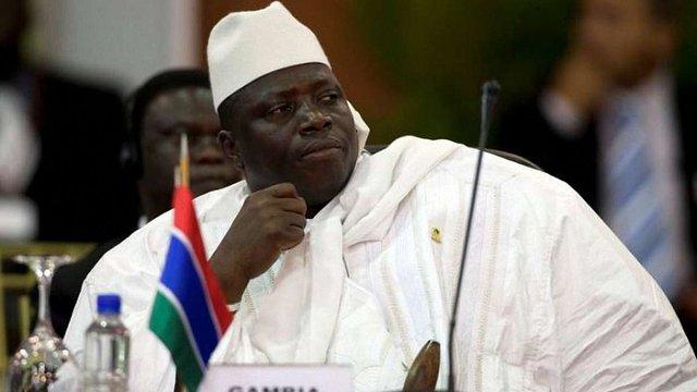 Президент Гамбії оголосив в країні надзвичайний стан за два дні до інавгурації нового президента