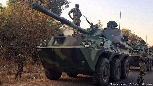 Сенегал оголосив про військове вторгнення в Гамбію