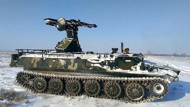 ЗСУ провели навчання з прикриття артилерійських підрозділів від ударів противника з повітря