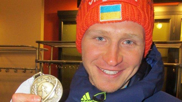 Біатлоніст Сергій Семенов завоював бронзу в індивідуальній гонці