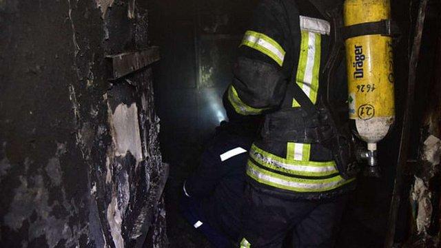 У Маріуполі сталася пожежа в будівлі поліції