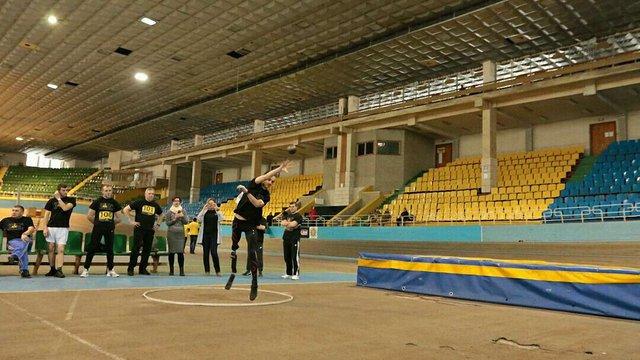У Львові відбулося тестування кандидатів на участь у міжнародних іграх для поранених військових
