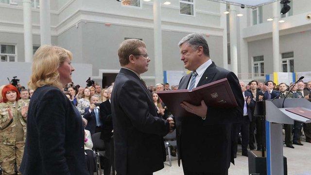 Президент нагородив добровольця Володимира Жемчугова званням «Герой України»