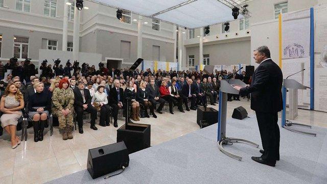 Петро Порошенко закликав політиків «не розкидатися територіями»