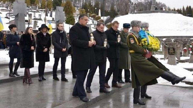 У День Соборності України у Львові вшанували пам'ять борців за незалежність