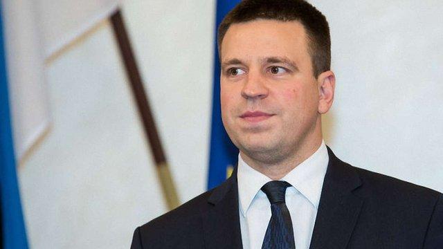 Естонія під час головування в ЄС зробить усе для вирішення конфлікту на Донбасі, – прем'єр