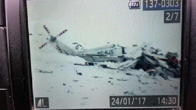 В Італії розбився рятувальний вертоліт, є загиблі