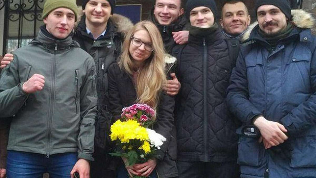 У Києві активістку Віту Заверуху випустили з СІЗО під заставу