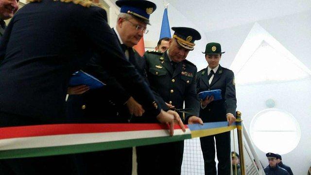 На українсько-угорському кордоні почав роботу контактний пункт «Захонь»