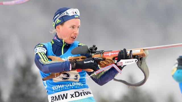 Українська біатлоністка стала бронзовою призеркою чемпіонату Європи