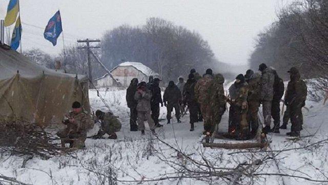 Ветерани АТО перекрили залізницю «Луганськ – Попасна»