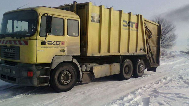 За один день зі Львова вивезли 800 тонн сміття