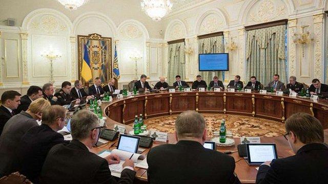 РНБО доручила урядові затвердити основні пріоритети оборонного замовлення