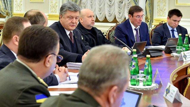 Порошенко закликав нарощувати об'єми експорту української зброї