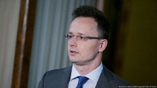 Глава МЗС Угорщини більше не вбачає у Росії загрози