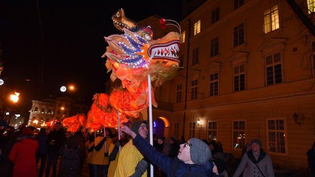 У Львові стартувало святкування китайського Нового року