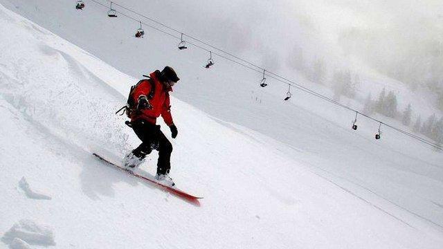На Львівщині рятувальники знайшли лижника, який заблудився у горах