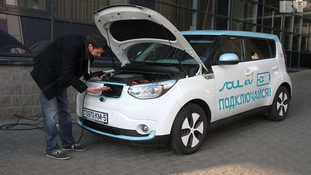 Білоруси розробили у співпраці з Китаєм власний електромобіль