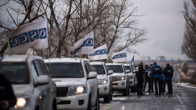Місія ОБСЄ за добу зафіксувала 2260 порушень режиму припинення вогню