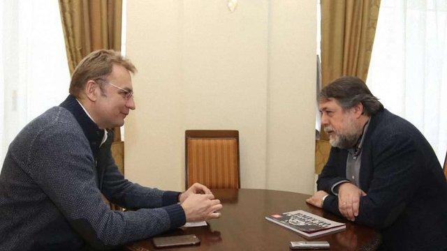 Андрій Садовий зустрівся з відомим режисером-документалістом Віталієм Манським