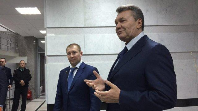 Захисники Януковича відмовилися розглядати матеріали справи про держзраду