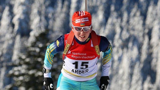Українська біатлоністка завоювала бронзу зимової Універсіади