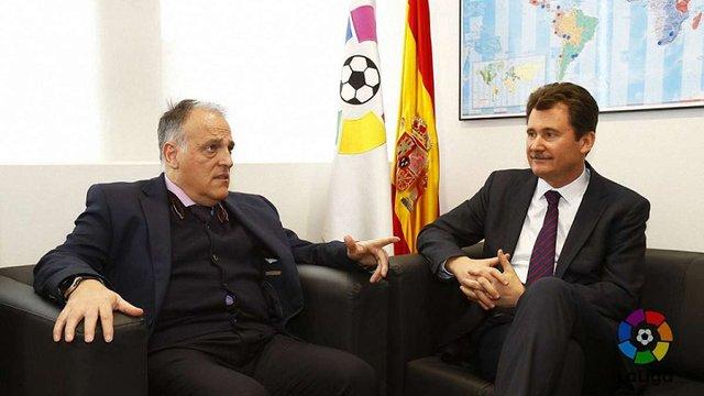 Президент Ла Ліги і посол України в Іспанії зустрілися через скандал із Романом Зозулею