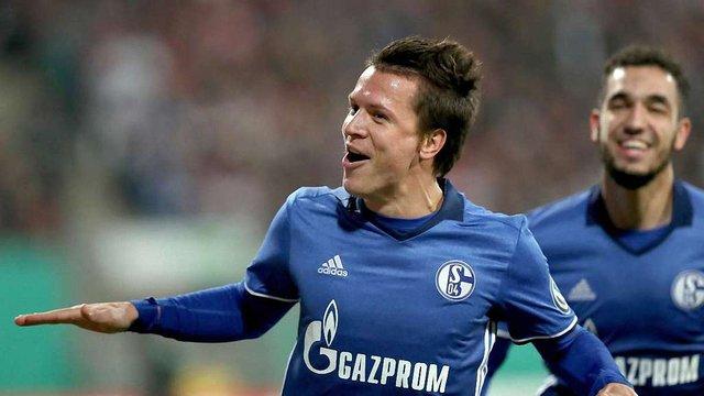 Євген Коноплянка став найкращим бомбардиром «Шальке» у поточному сезоні