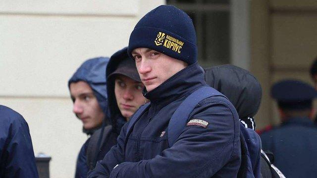 «Національний корпус» заперечив участь приїжджих у пікеті Львівської міськради