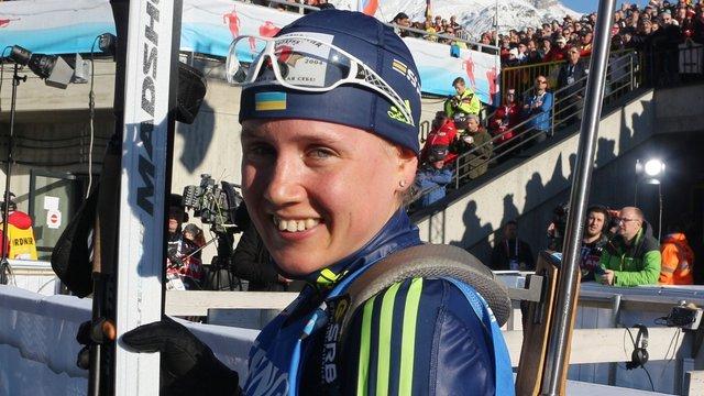 Анастасія Меркушина посіла 8 місце у гонці переслідування на чемпіонаті світу