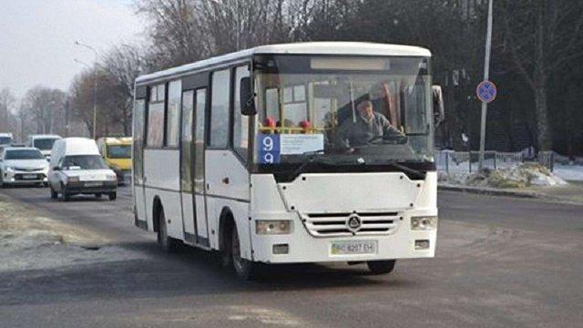 У Львові відновив роботу автобусний маршрут №9