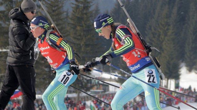 Дві українські біатлоністки кваліфікувались до мас-старту на чемпіонаті світу