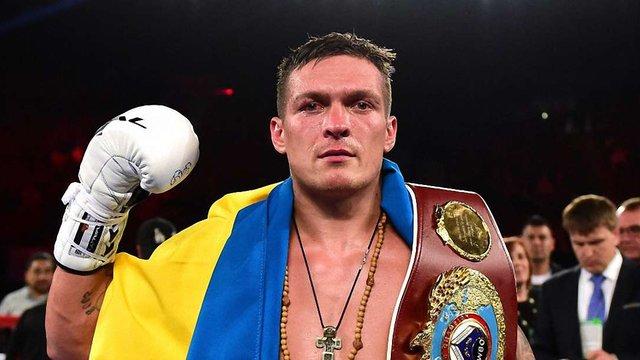 Наступним суперником Олександра Усика стане американський боксер