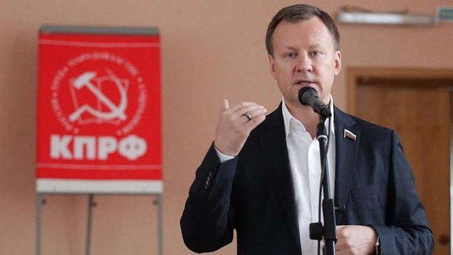 Екс-депутат Держдуми РФ стверджує, що голосував за анексію Криму під тиском