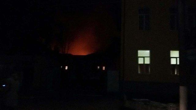 У Коломиї згоріло наметове містечко 10-ї окремої гірсько-штурмової бригади ЗСУ