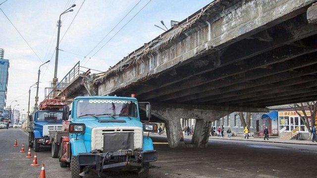 Кличко покарав свого заступника та голову РДА через обвал частини Шулявського мосту