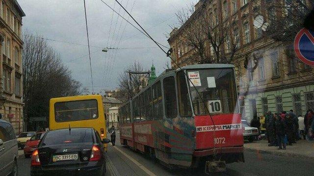 Львівські трамваї № 2, 7, 10 тимчасово курсують зі змінами