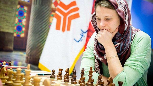 Анна Музичук перемогла у третій партії фіналу чемпіонату світу з шахів