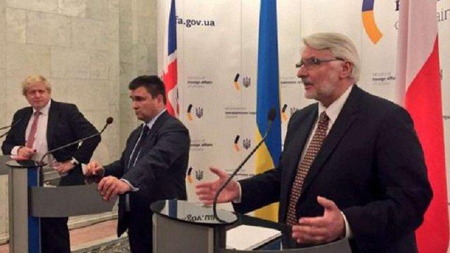 Польща і Великобританія запропонували новий формат переговорів щодо Донбасу