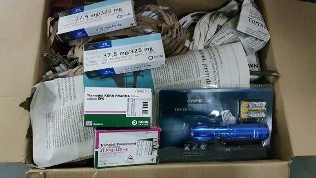 На Львівщині у чотирьох посилках з-за кордону митники виявили понад 200 нарковмісних таблеток