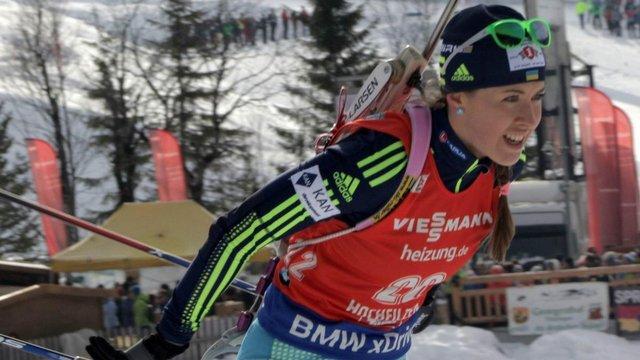 Українка Юлія Джима піднялась на 8 місце у заліку найсильніших біатлоністок світу
