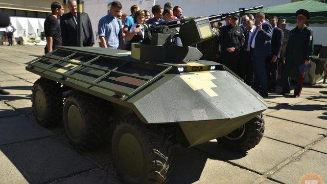 «Укроборонпром» розширює лінійку безпілотної наземної військової техніки