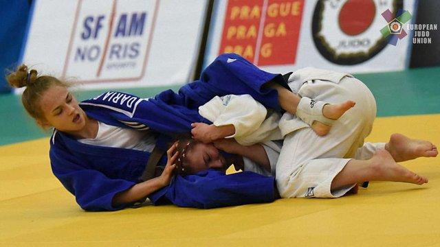 Українська дзюдоїстка завоювала «золото» на міжнародному турнірі у Польщі