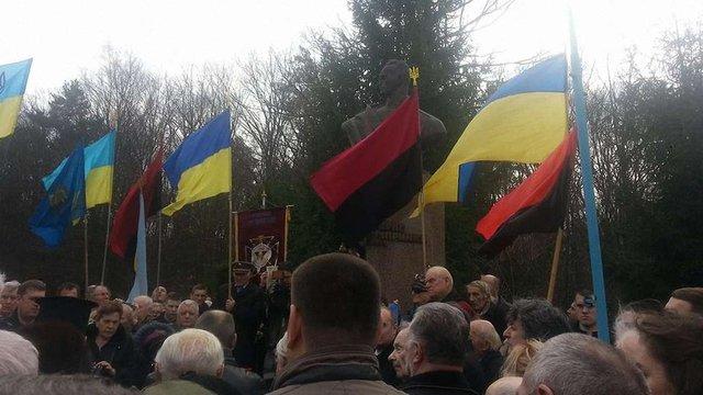 У Львові вшанували пам'ять командира УПА Романа Шухевича