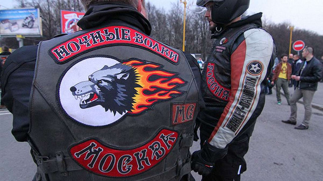 Пропутінські байкери у Москві мітингували на підтримку бойовиків «ДНР» та «ЛНР»